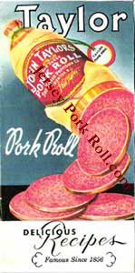 Taylor Ham - Taylor Pork Roll Recipe Book