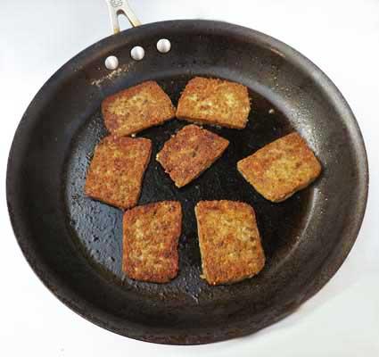 Cooking Scrapple | Jersey Pork Roll
