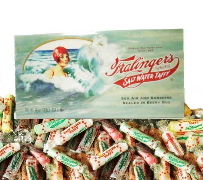 1 Box Fralingers Salt Water Taffy