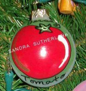 Jersey Tomato Ornament