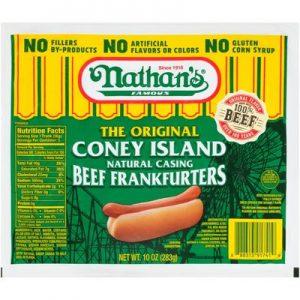 Nathan's Natural Casing 10oz