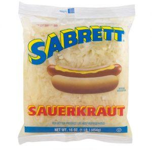 1 lb Sabrett Sauerkraut