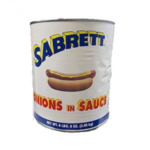 #10 Can Sabrett Onions in Sauce